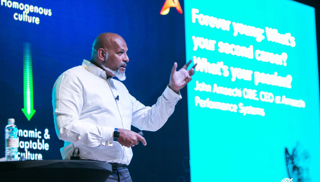 John Amaechi speaking at the EAPM Congress, Slovenia 2019