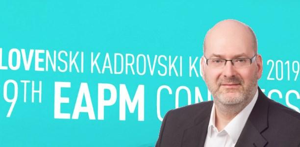 Martin Klaub of IBM at the EAPM Congress